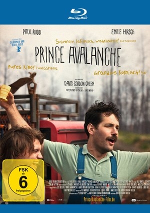 Prince Avalanche DVD Kritik - BluRay Cover