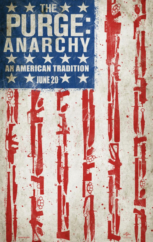 The Purge: Anarchy Trailer und Poster