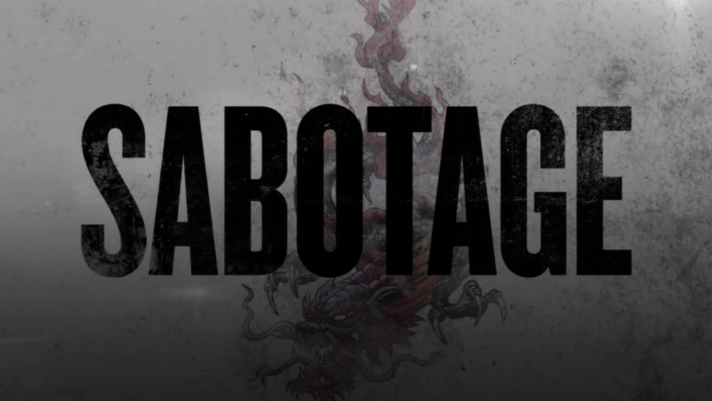 Sabotage Red Band Trailer 2
