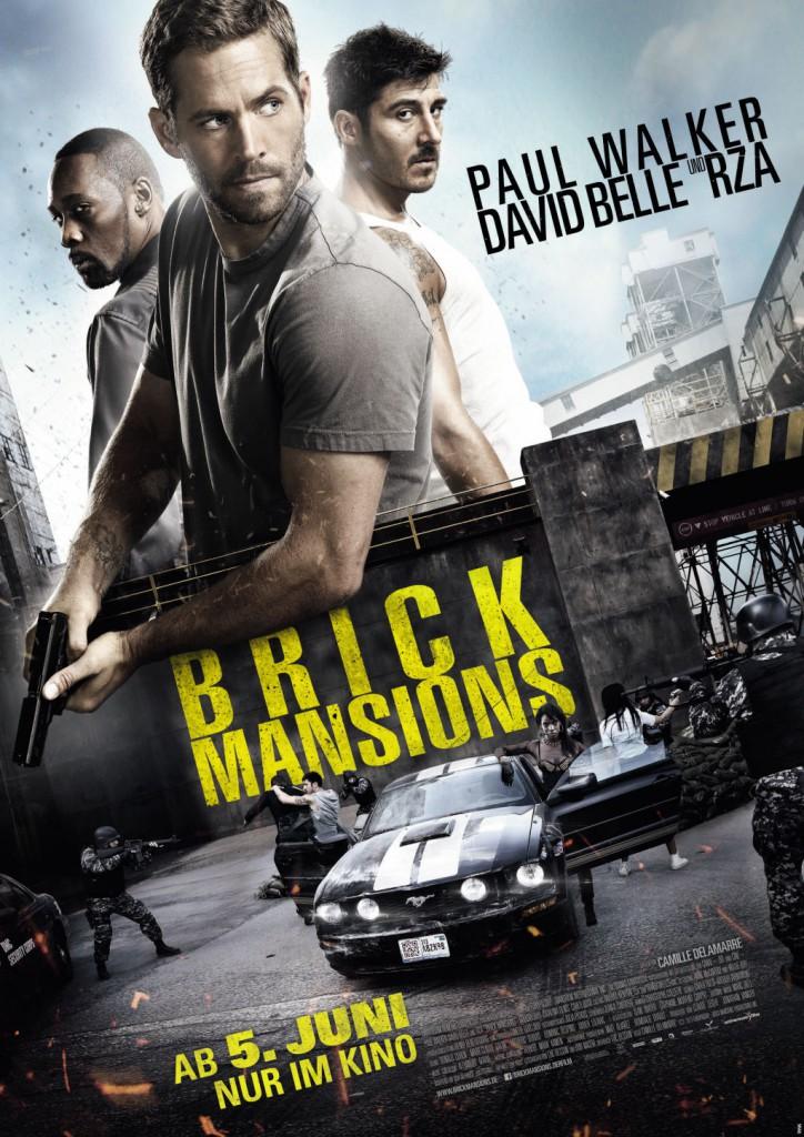 Brick Mansions deutscher Trailer und deutsches Poster