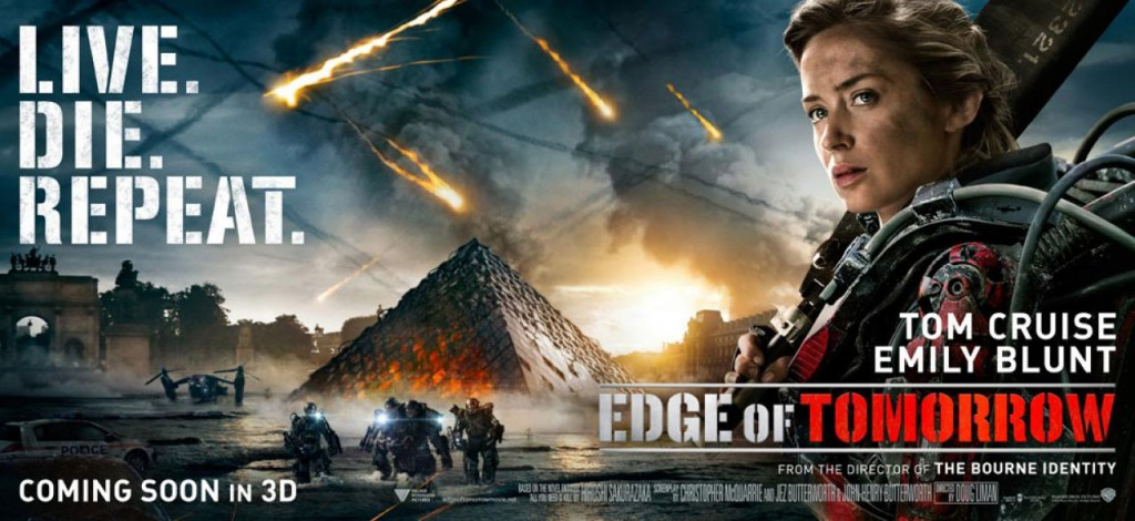 Edge of Tomorrow Banner - Emily Blunt