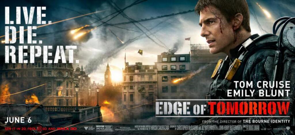 Edge of Tomorrow Banner - Tom Cruise