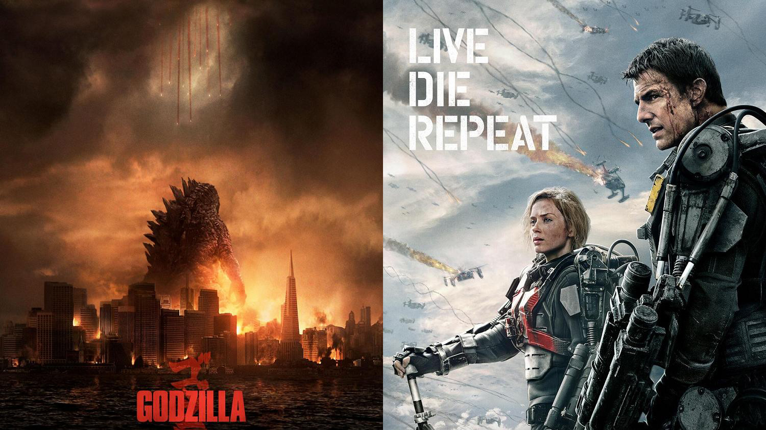 Edge of Tomorrow Godzilla Vorschau