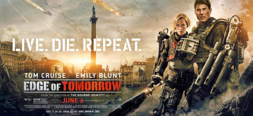 Edge of Tomorrow Plakat