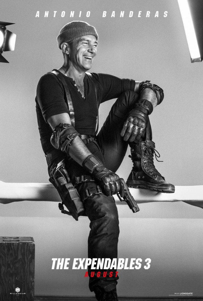 The Expendables 3 Trailer & Poster - Banderas
