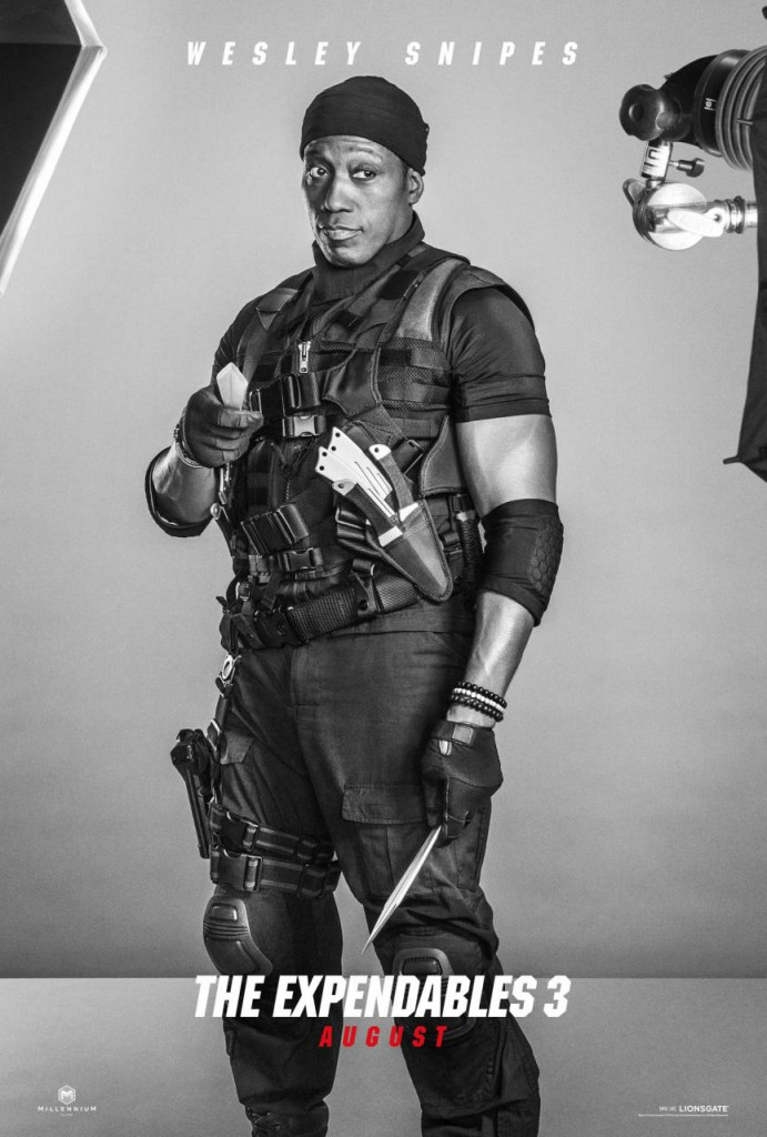 The Expendables 3 Trailer & Poster - Snipes