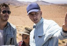 Greg McLean am Set von Wolf Creek 2
