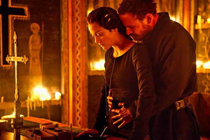 Marion Cotillard und Michael Fassbender Macbeth
