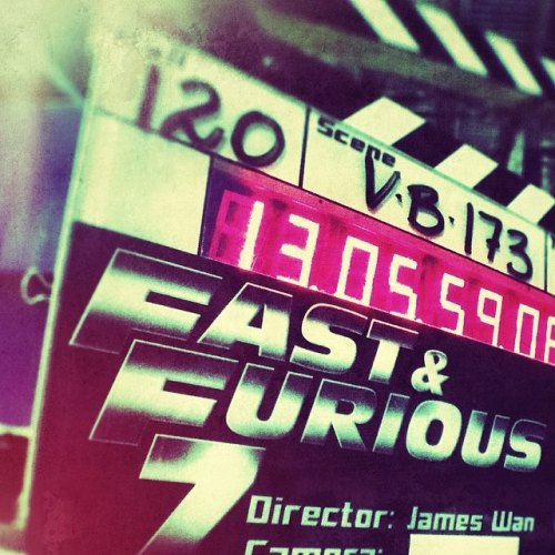 Fast and Furious 7 Dreh