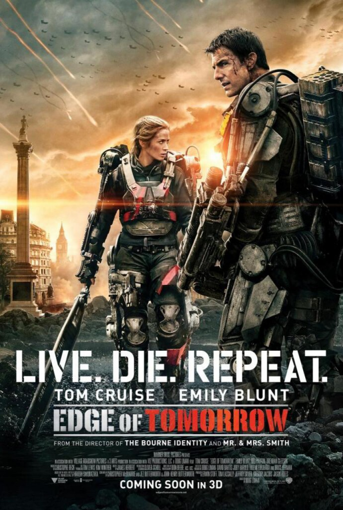 Edge of Tomorrow Plakate 1