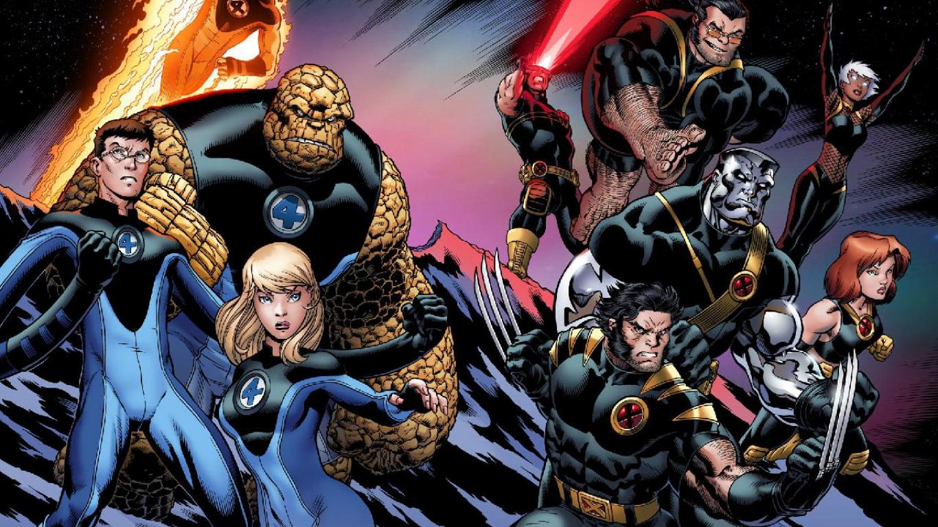 Fantastic Four X-Men Crossover