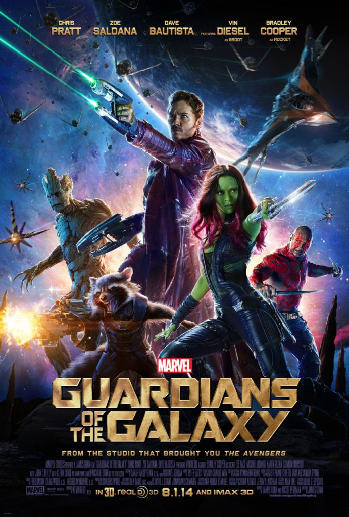 Guardians of the Galaxy Plakat