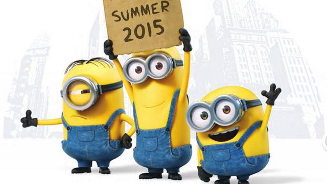 Die Minions Teaser Poster
