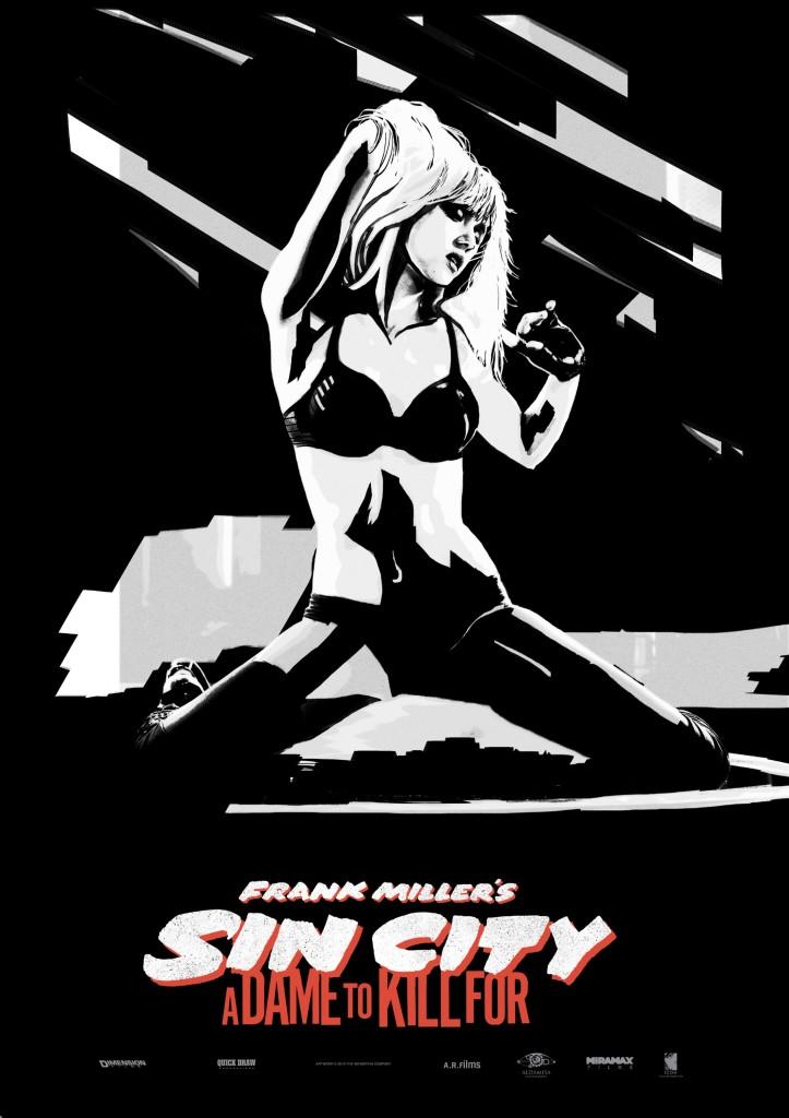 Sin City 2 Poster Jessica Alba