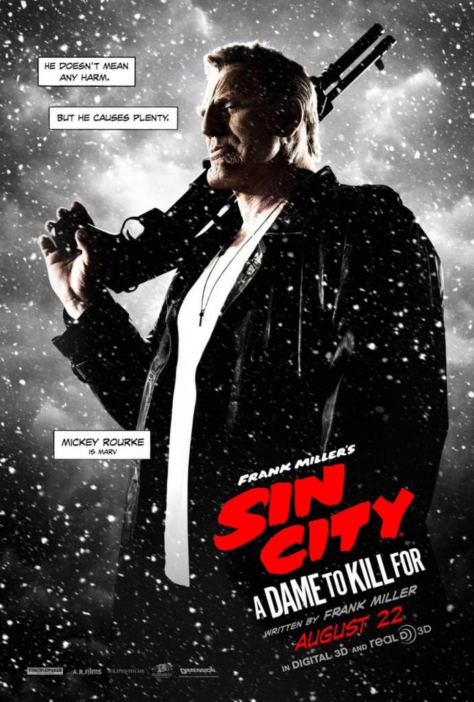 Sin City 2 Plakate Rourke