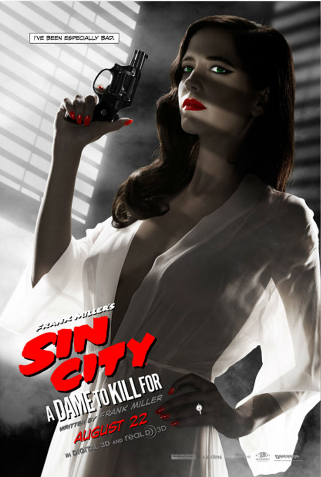 Sin City 2 Eva Green Poster revised