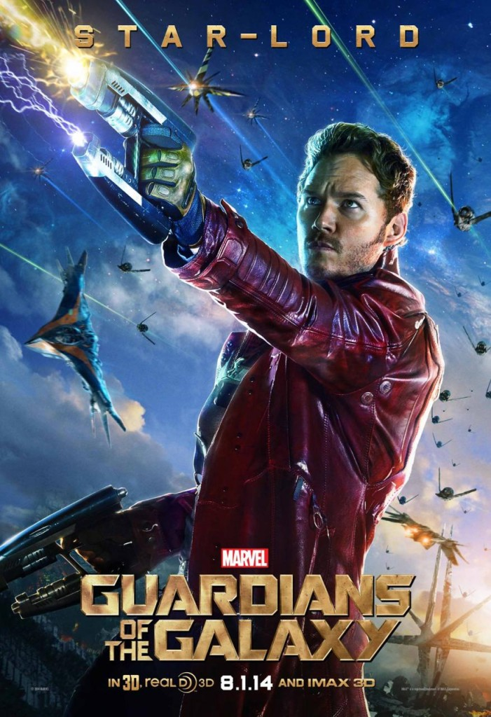Guardians of the Galaxy Charaktere - Star Lord