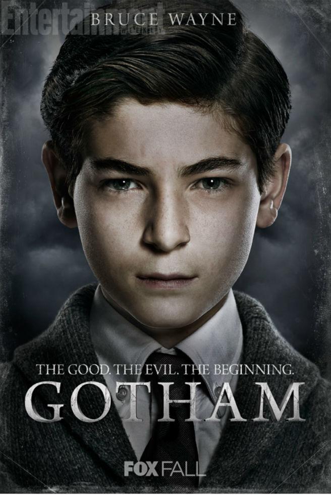 Gotham Charakterposter Bruce Wayne