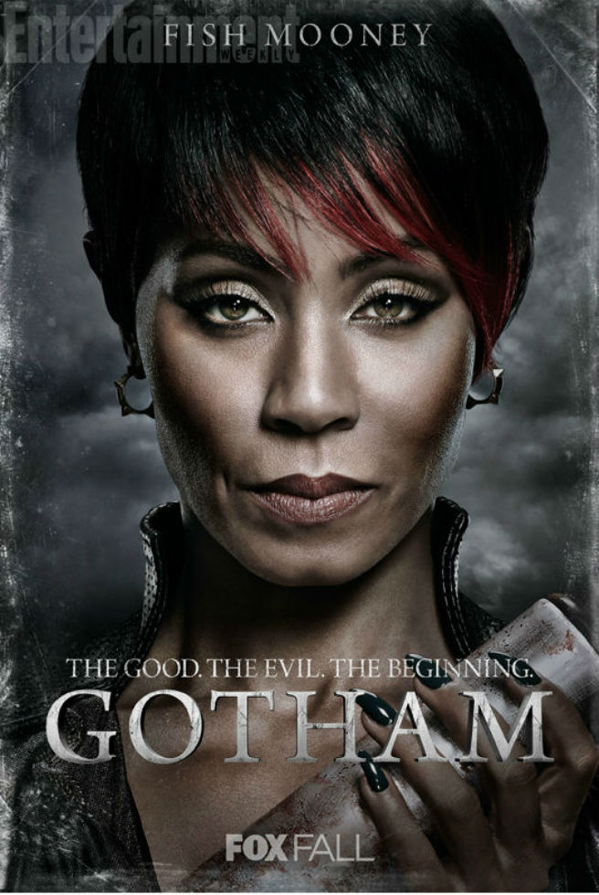 Gotham Charakterposter Fish Mooney