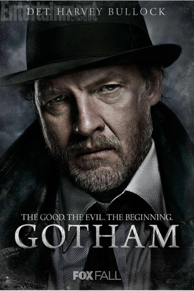 Gotham Charakterposter  Harvey Bullock