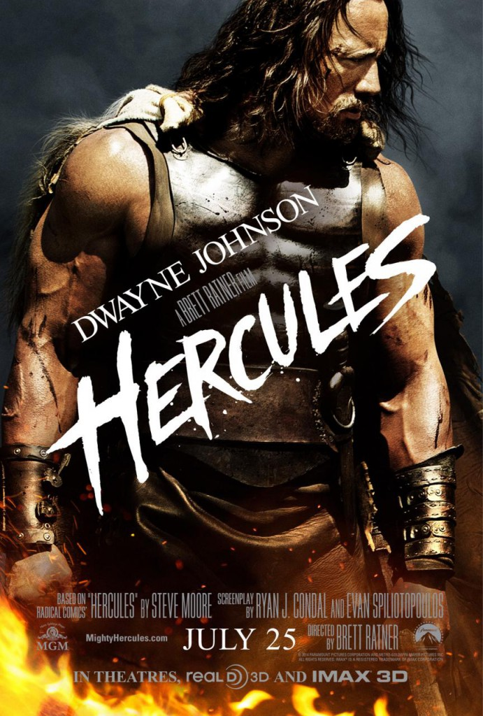 Hercules Trailer & Plakat