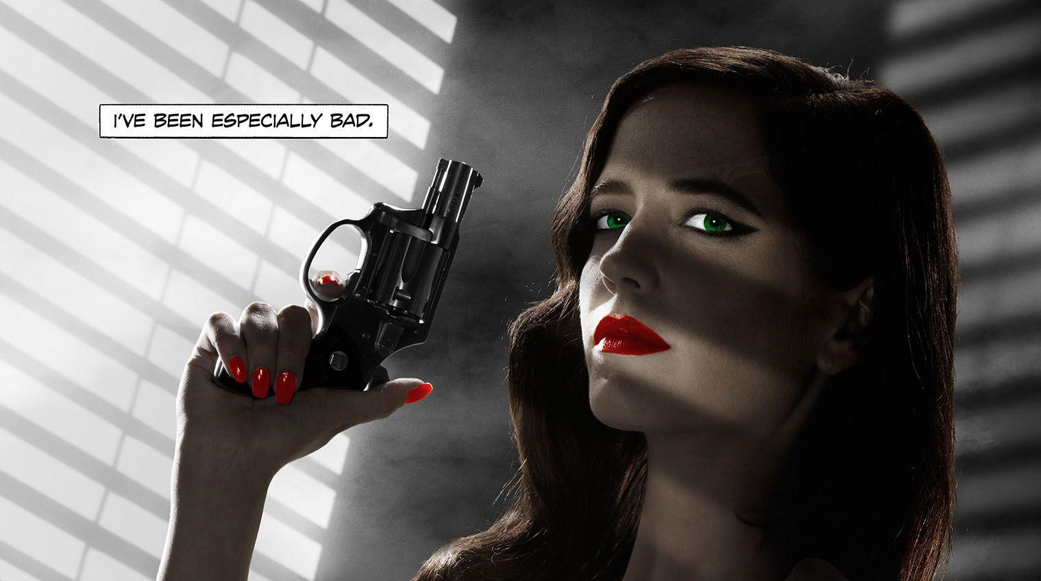 Sin City 2 Eva Green Poster