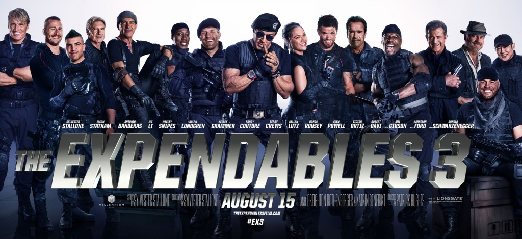 The Expendables 3 Trailer & Banner