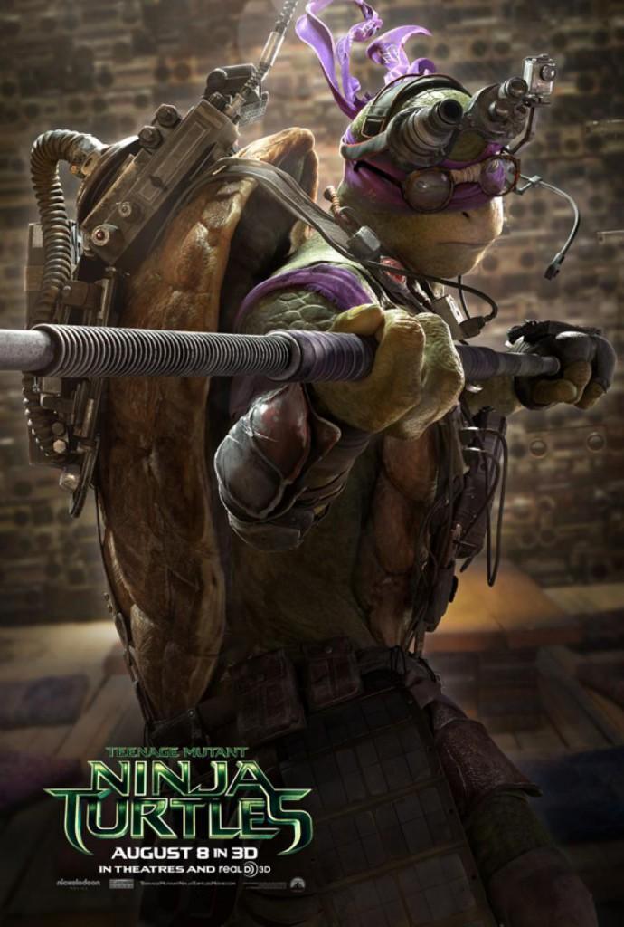 Ninja Turtles Trailer Poster Donatello
