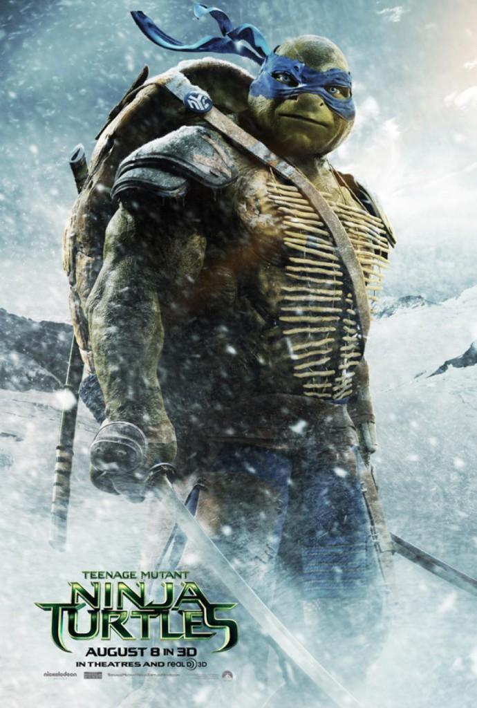 Ninja Turtles Trailer Leonardo