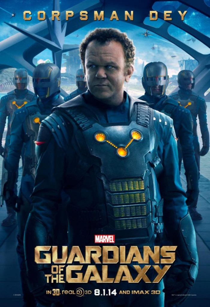 Guardians of the Galaxy Plakate Corpsman Dey