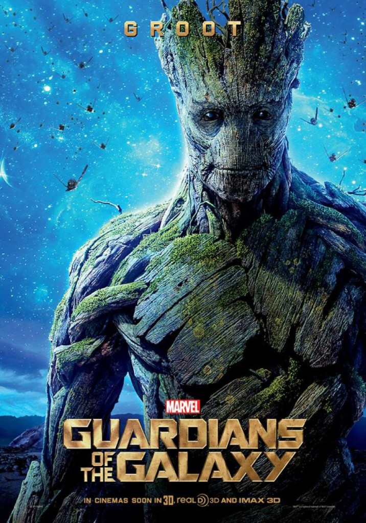 Guardians of the Galaxy Plakate Groot