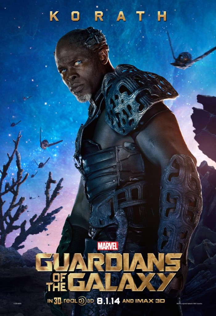 Guardians of the Galaxy Plakate Korath