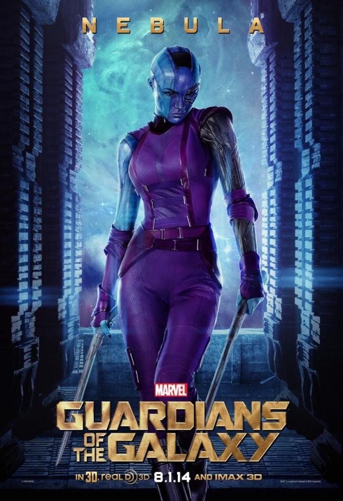 Guardians of the Galaxy Plakate Nebula
