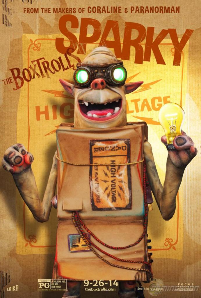 Die Boxtrolls Plakat 3