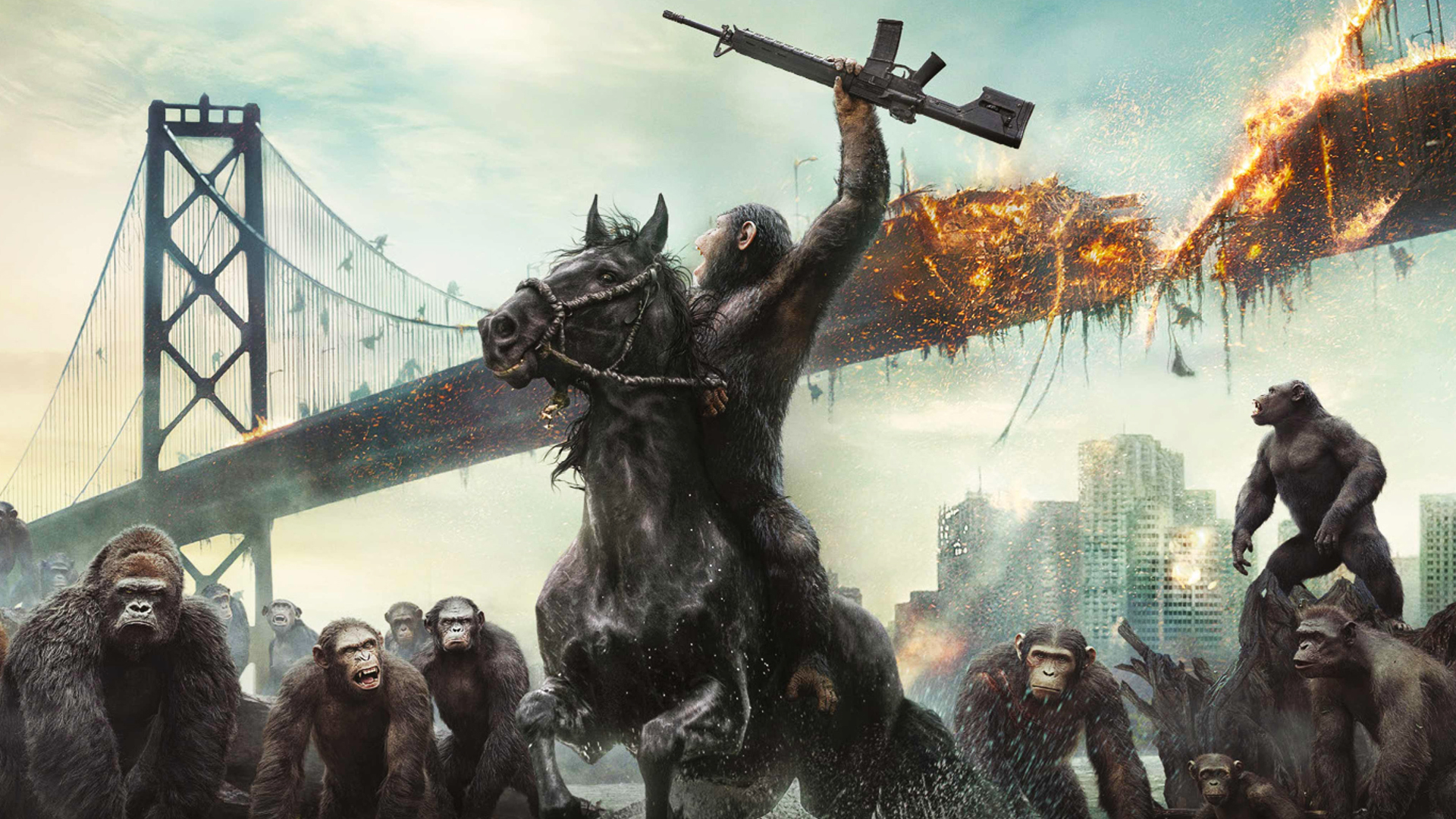 Planet der Affen Revolution (2014) Filmkritik