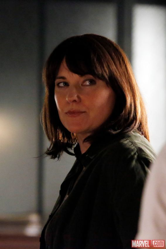 Lucy Lawless Agents of Shield