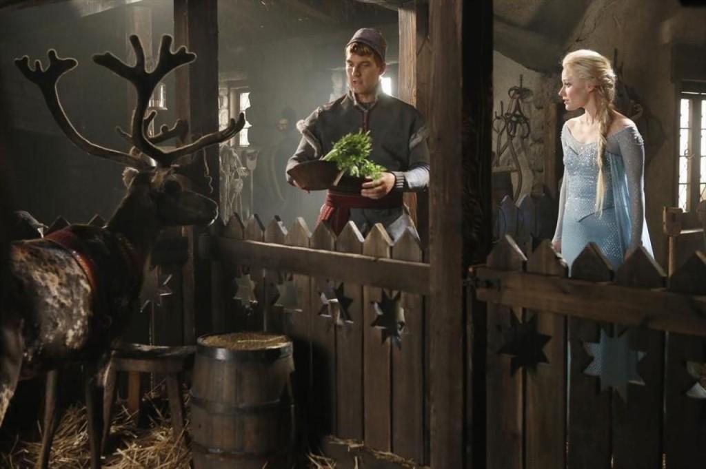 Once Upon a Time Season 4 Elsa und Kristoff 2