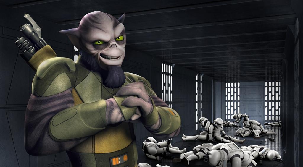 Star Wars Rebels Clip Zeb