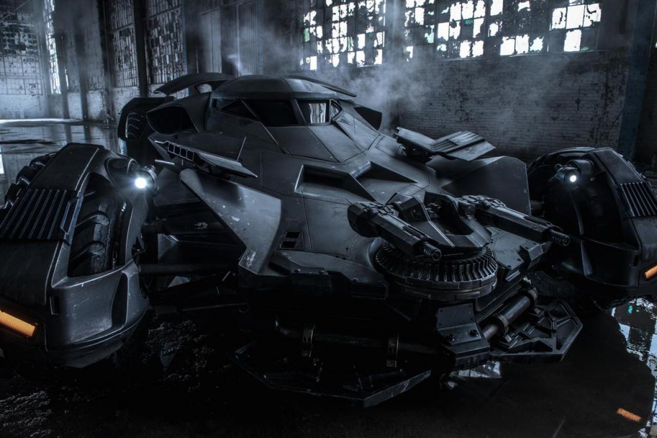 Batmobil Batman v Superman: Dawn of Justice