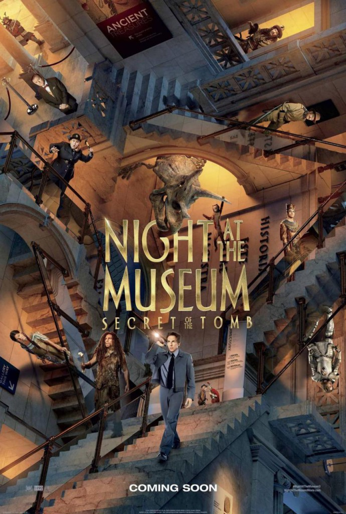 Nachts im Museum 3 Plakat 2
