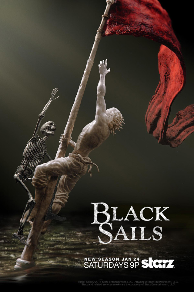 Black Sails Staffel 2 Start Poster
