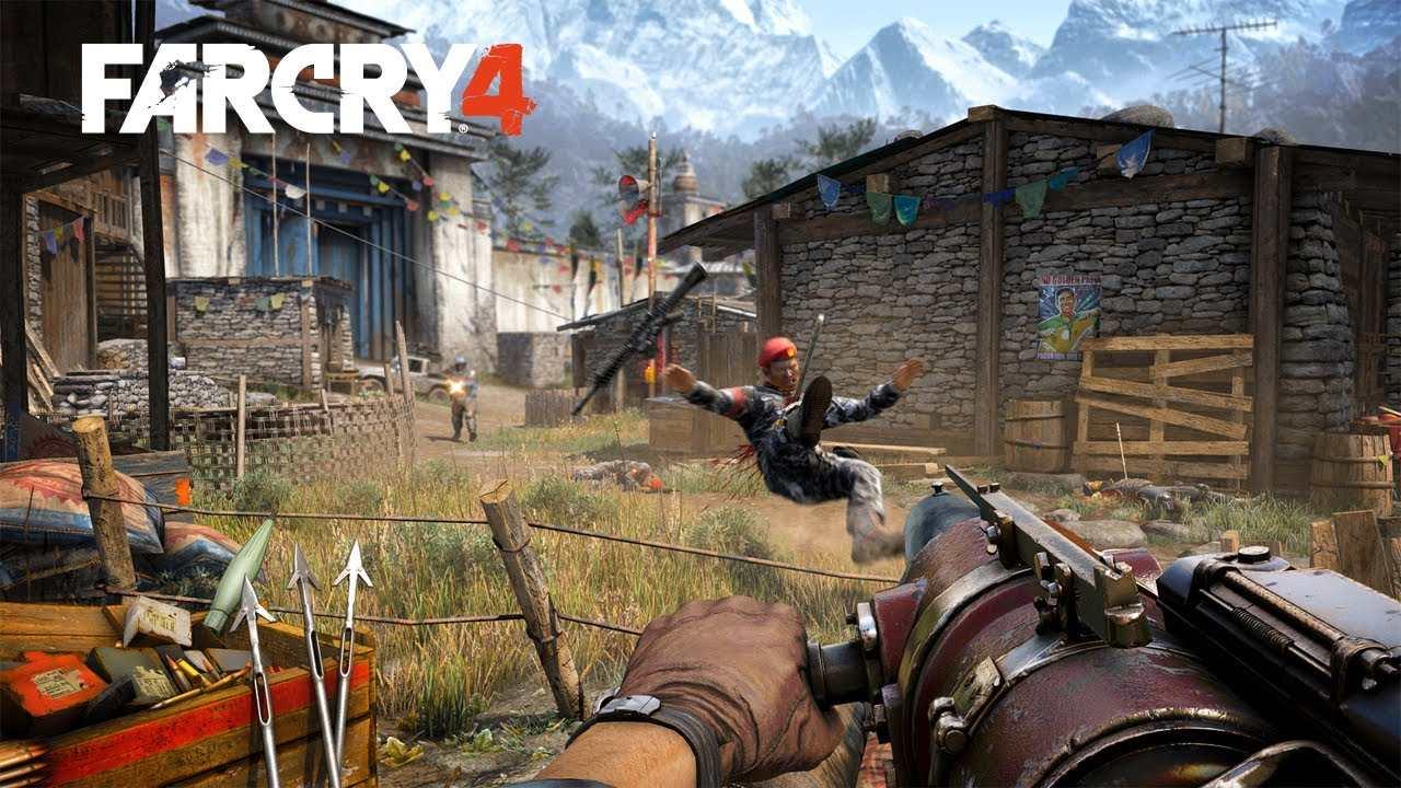 Far Cry 4 Waffen Slots