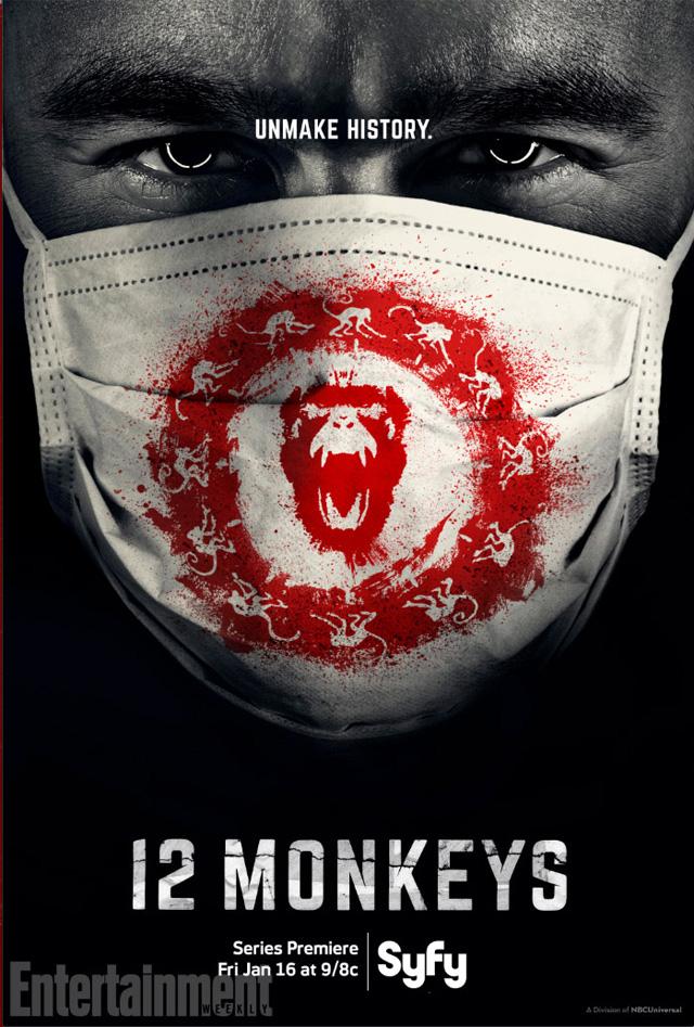 12 Monkeys Poster 1