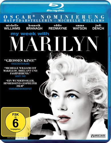 Adventskalender 2014 Gewinnspiel My Week with Marilyn