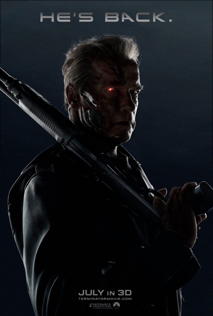 Terminator Genisys Super Bowl Spot Poster