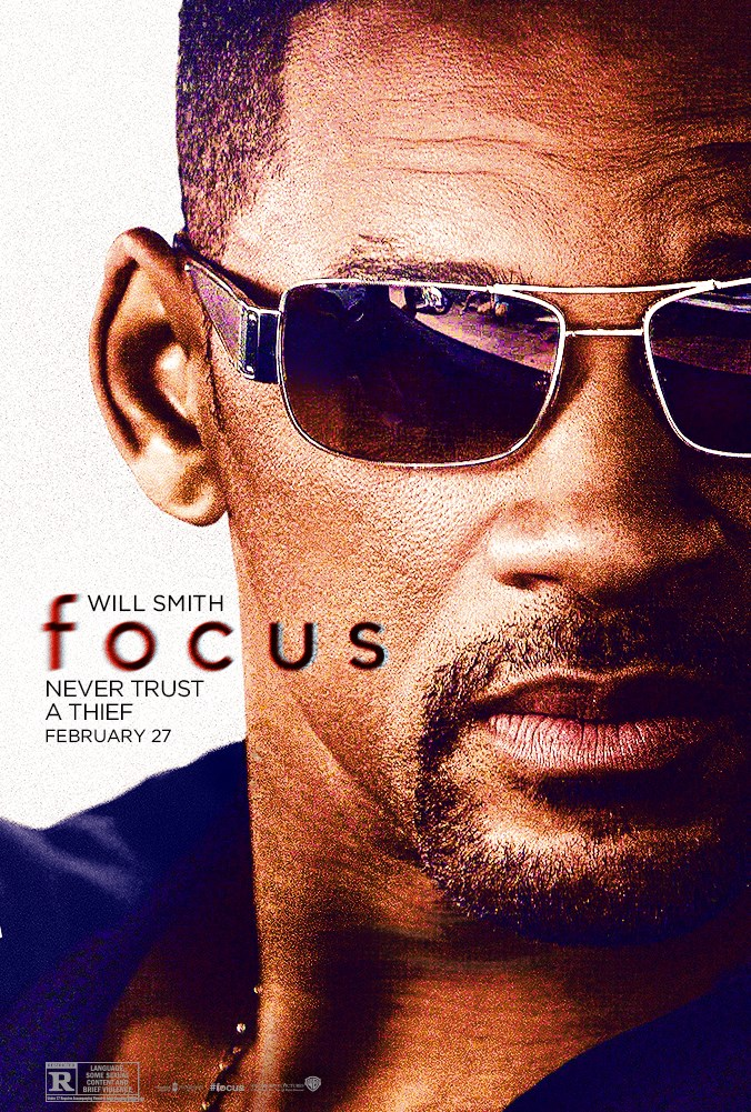 Will Smith Focus Poster 3
