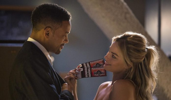 Margot Robbie Will Smith Focus