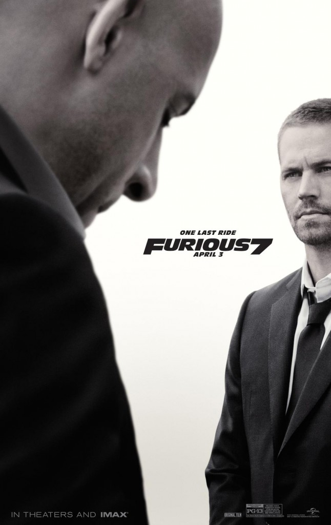 Fast & Furious 7 Poster 1