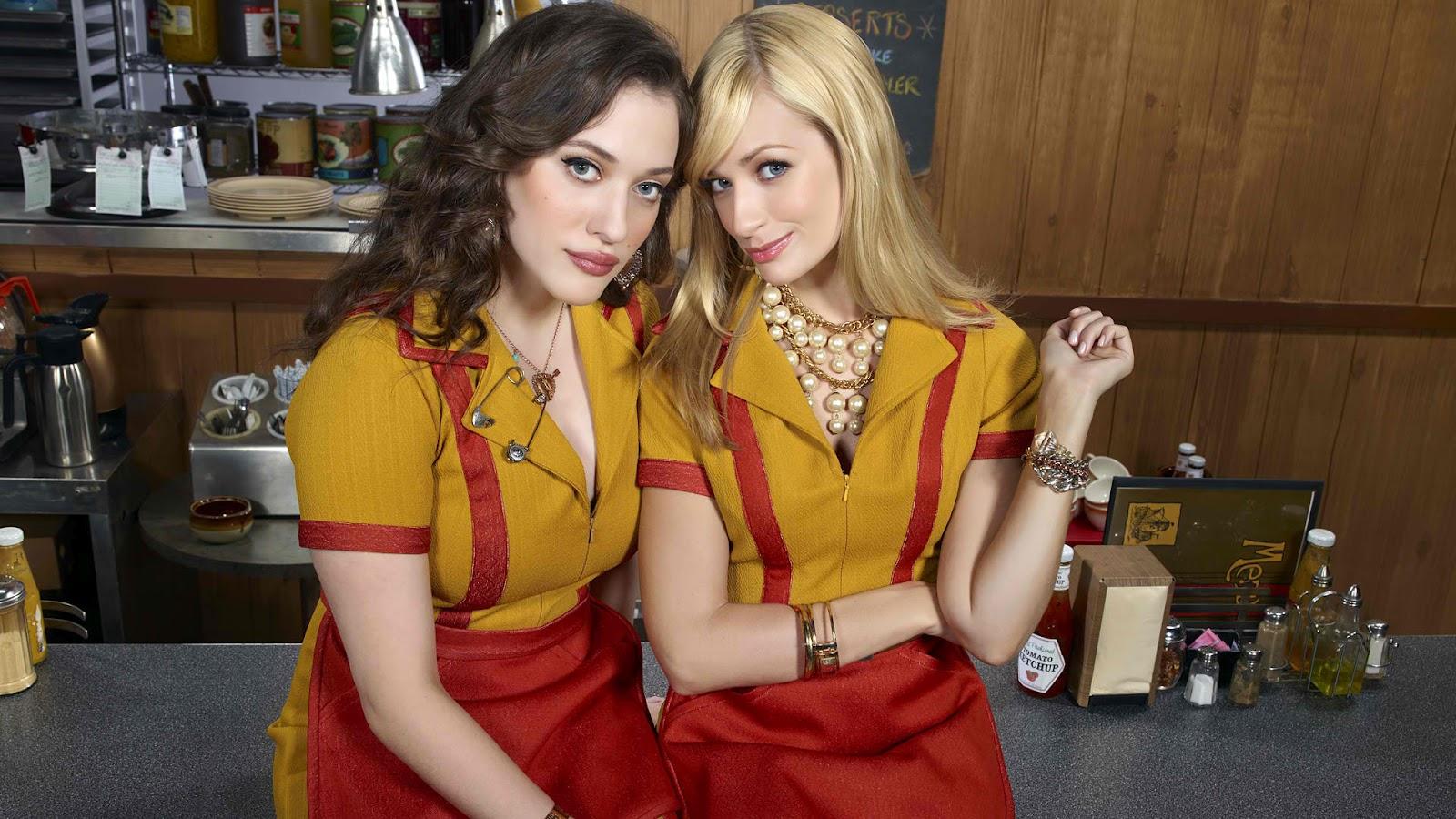 2 broke girls ende