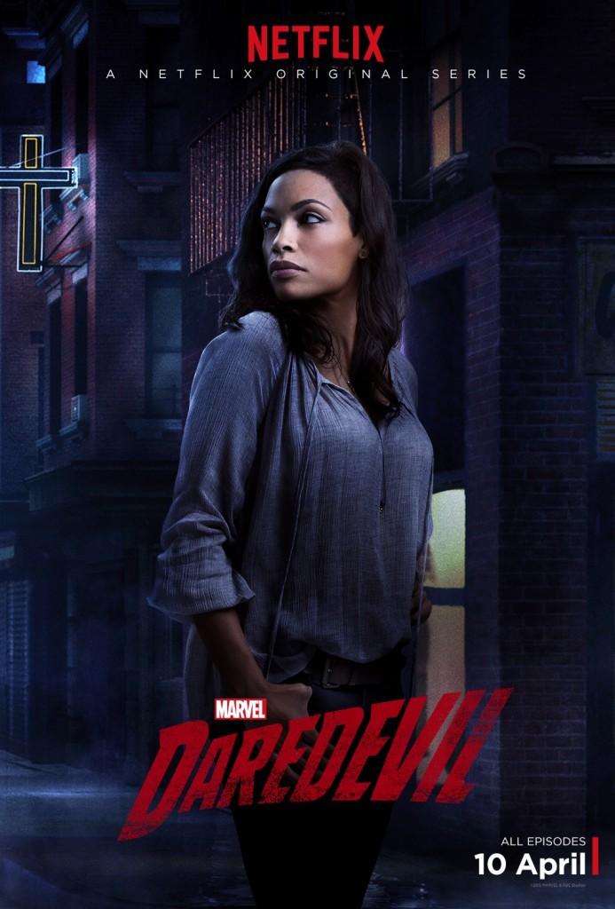 Daredevil Serie Poster Claire Temple